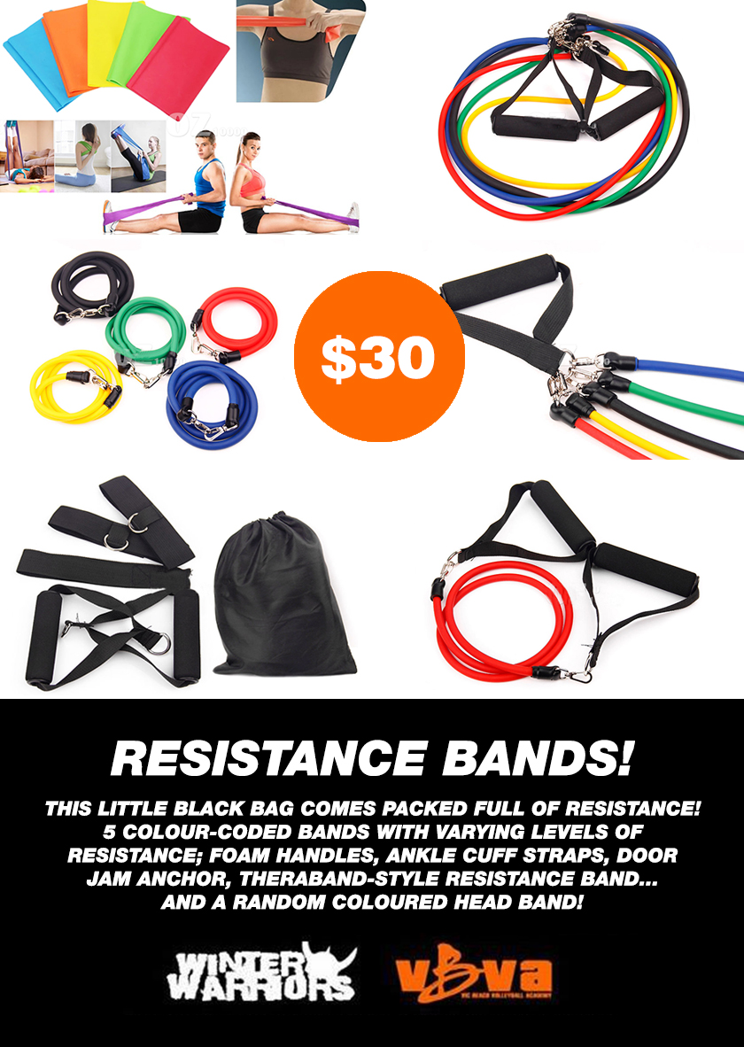 RESISTANCE BANDS AD
